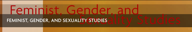 Feminist, Gender, and Sexuality Studies